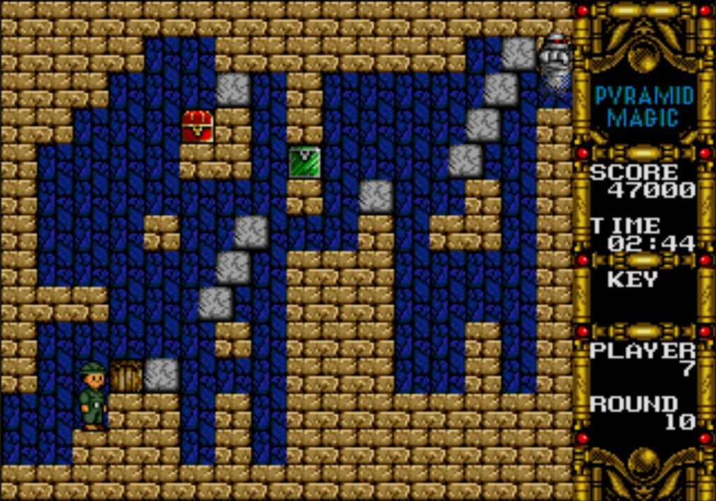 Pyramid Magic: an enjoyable puzzle game from 1991