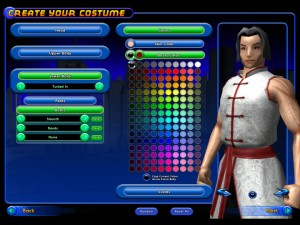 City of Heroes - Character Creator