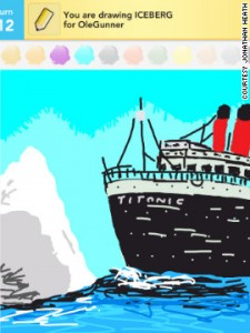 Draw Something - Titanic