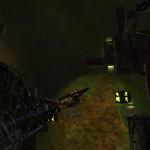 Flying through a Borg wreck