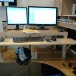 Yo dawg! I heard you like desks, so I put a desk on your desk!