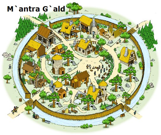 The City of M`antra G`ald - My City