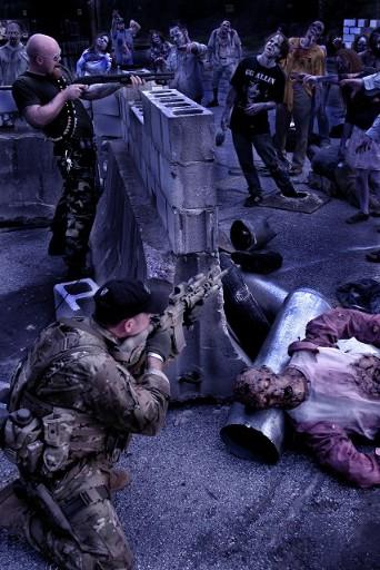 Atlanta zombie apocalypse shoot for the head